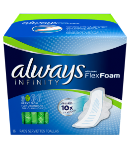 ALWAYS SANITARY PADS